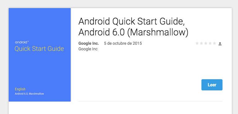 Google lanza una guía de inicio para Marshmallow gratis