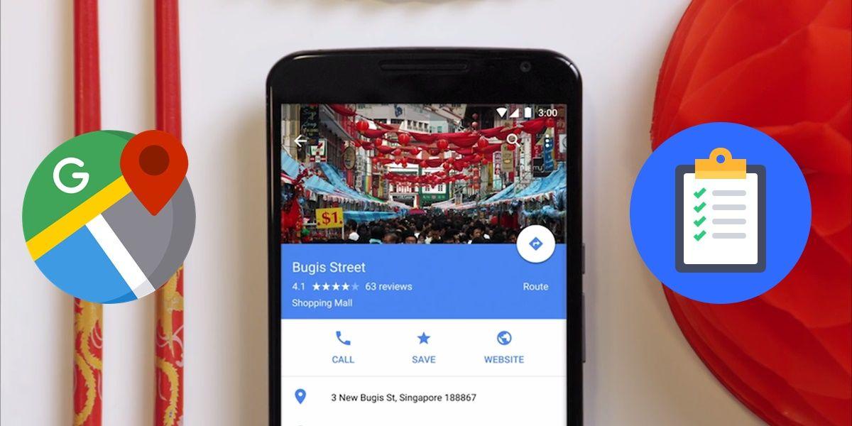 Google maps listas para que sirven