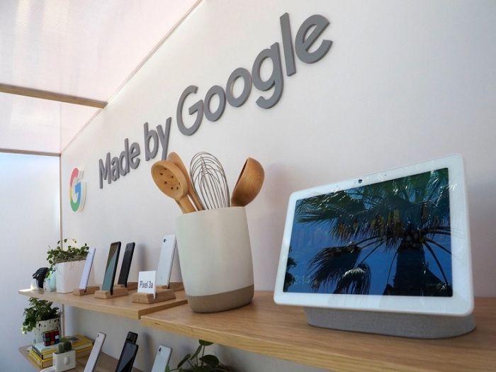 Google materiales reciclados