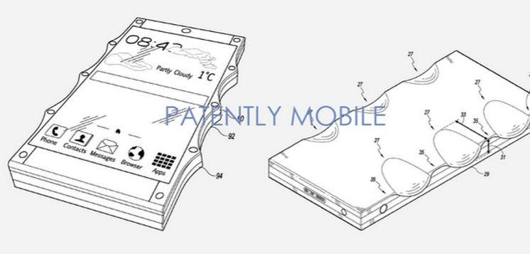 Google patenta un móvil que no se caería nunca