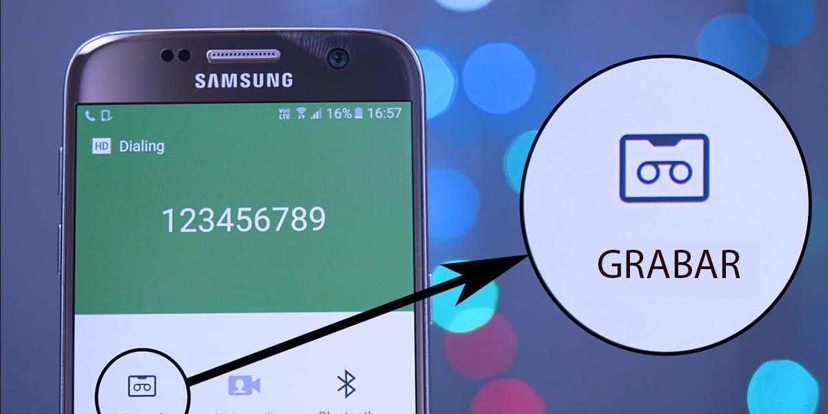 Grabar llamadas Samsung Galaxy A