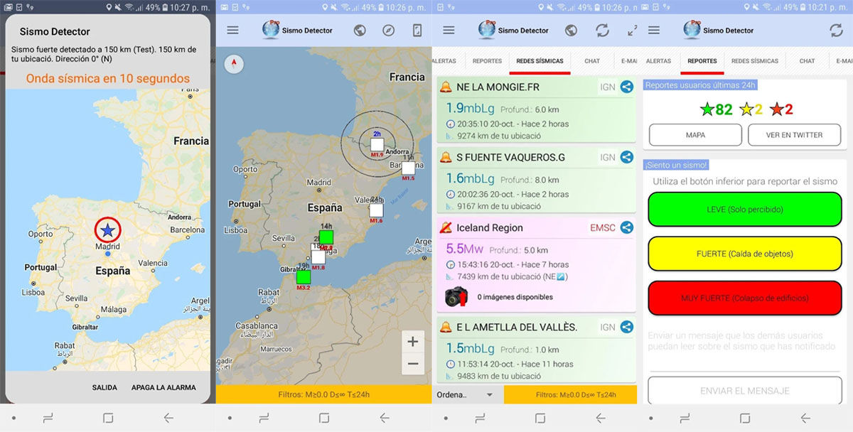 Gracias a Sismo Detector Pro, podrás saber cuándo va a haber un terremoto con antelación