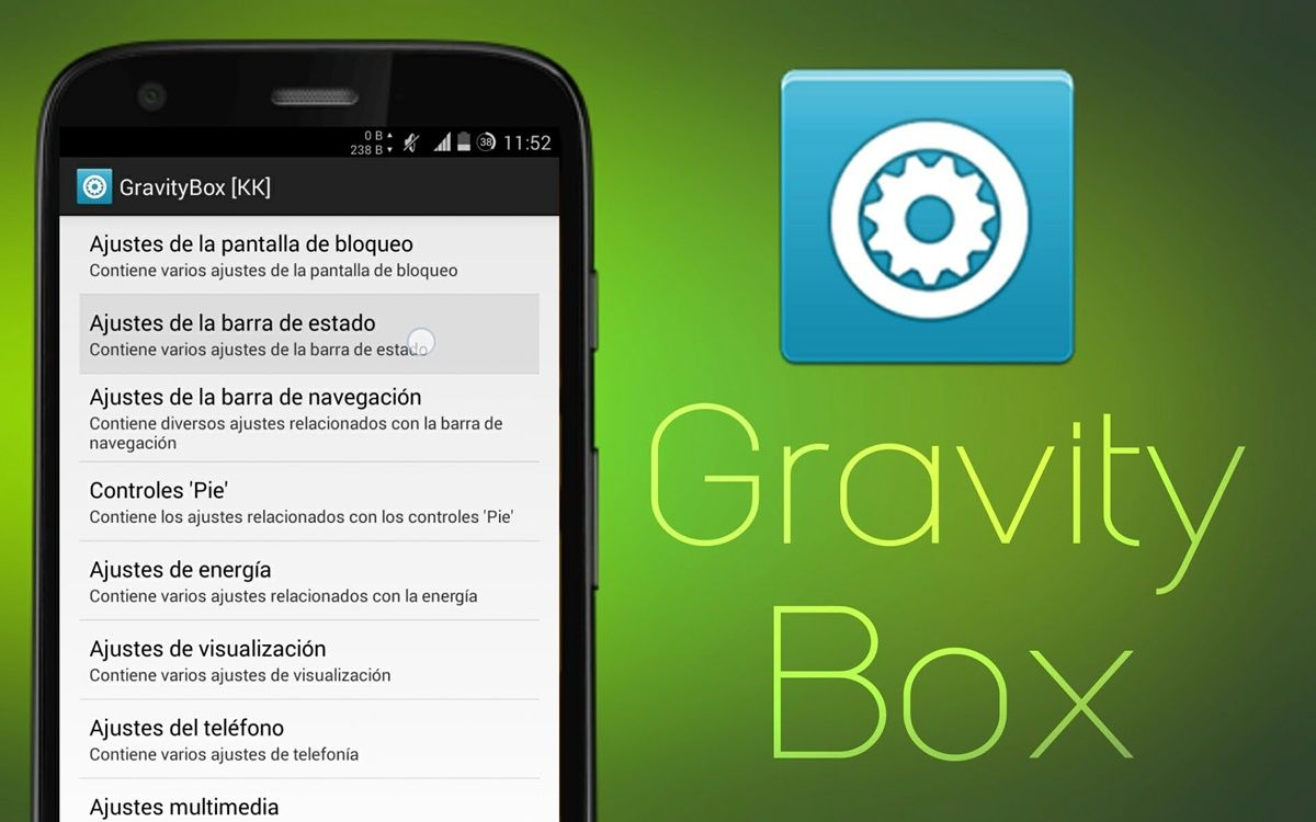Gravity Box Android Xposed