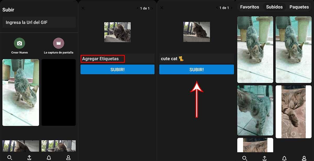 Guarda tus gifs en Tenor GIF Keyboard