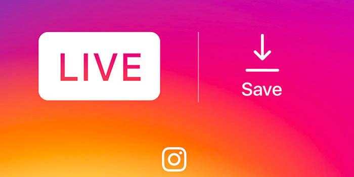 Guardar videos directos Instagram