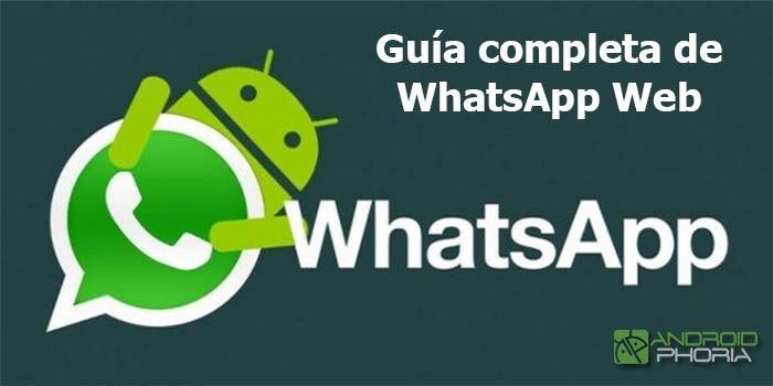 Guia completa de WhatsApp Web