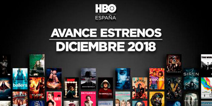 HBO Espana estrenos diciembre 2018
