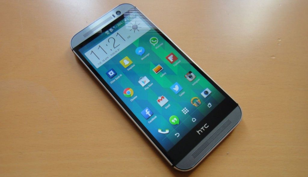 HTC One M8 con Android Lollipop