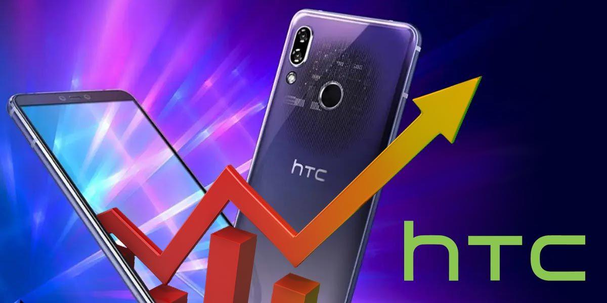 HTC consigue recuperar más de la mitad de sus pérdidas durante el segundo trimestre de 2021