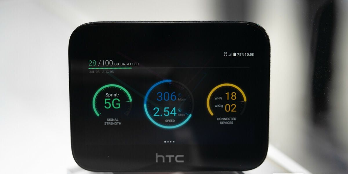 HTC lanza hub 5g