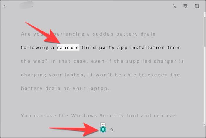 Hacer que Microsoft Teams te lea texto PC