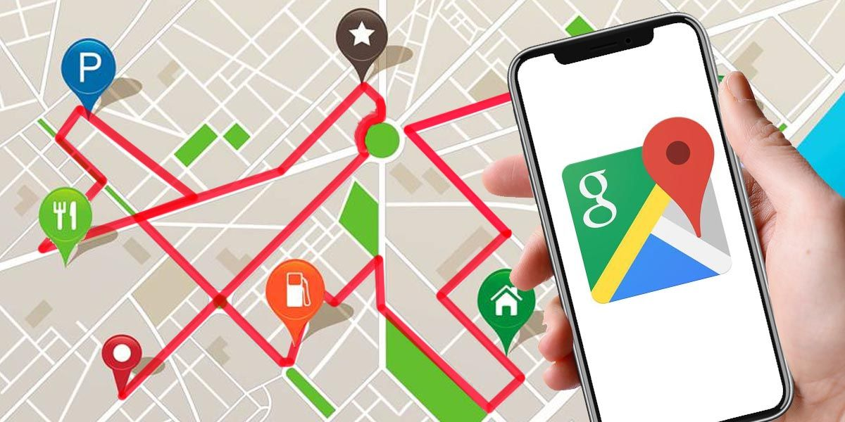 Hacer y compartir rutas de Google Maps con más de una parada