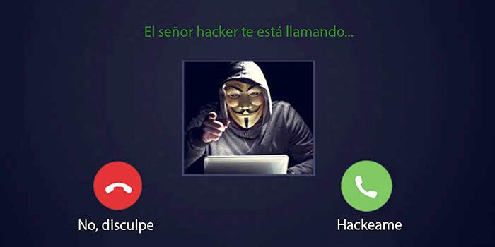 Hackear una videollamada de WhatsApp