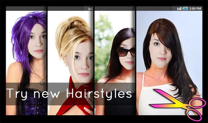 Hairstyles - Fun and Fashion para Android