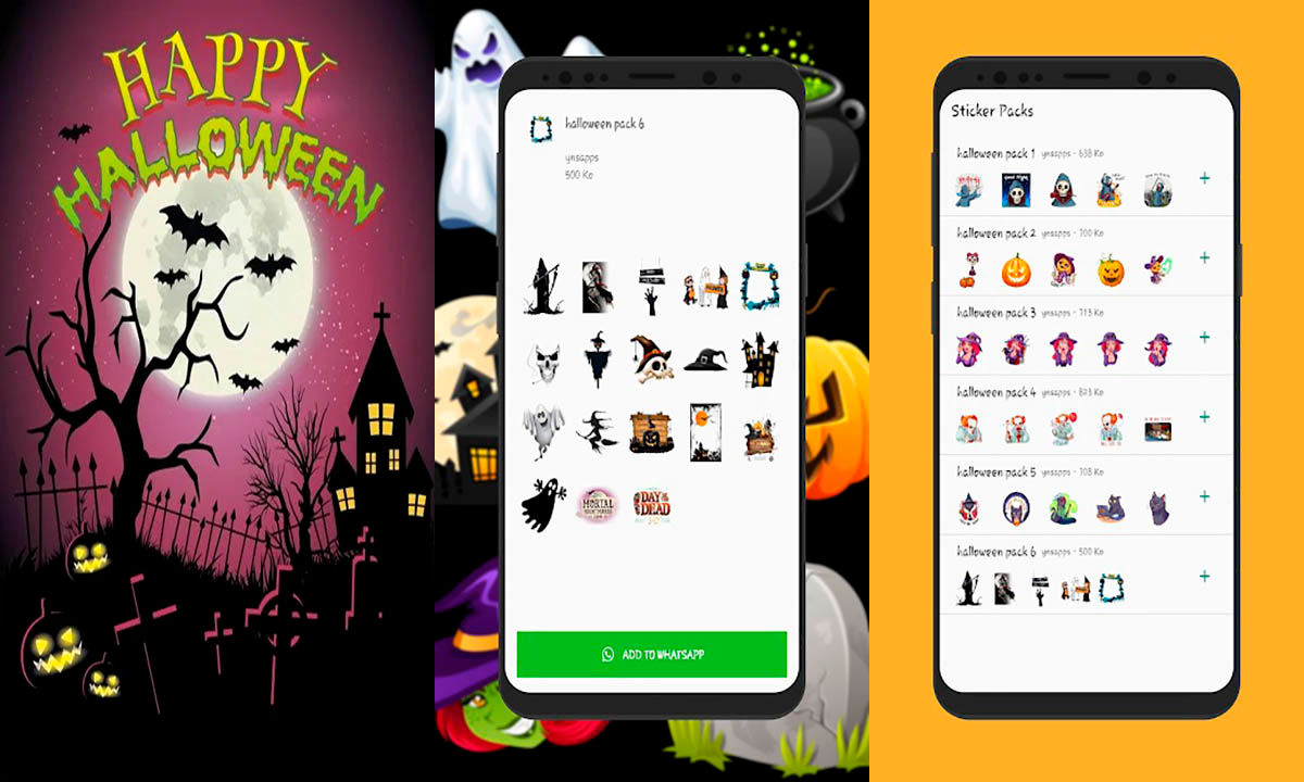 Halloween Stickers 2020 WAStickerApps