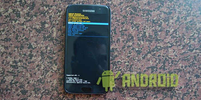 Hard Reset Galaxy S7