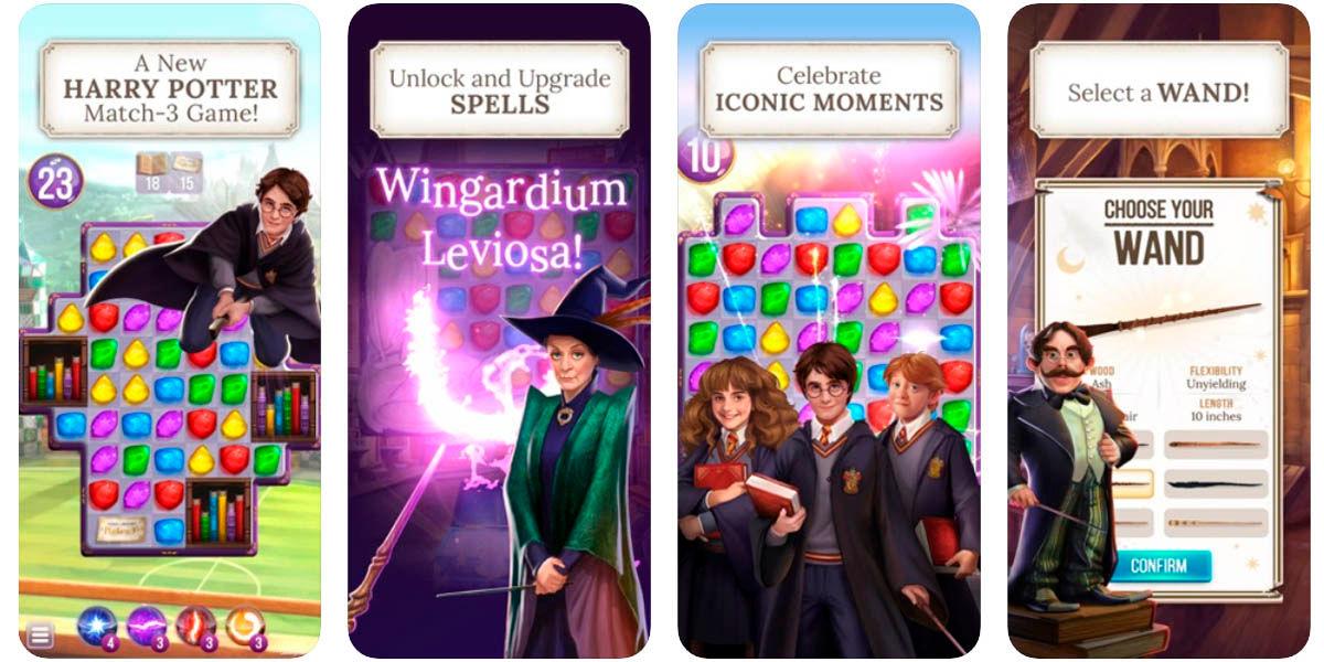 Harry Potter Puzzles & Spells juego conectar piezas