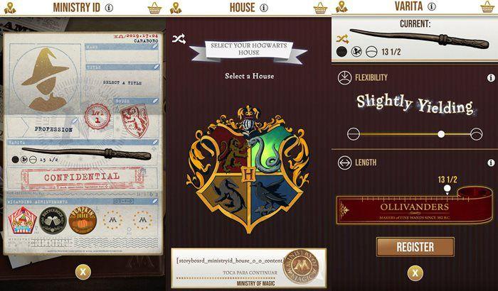 Harry Potter Wizard Unite perfil