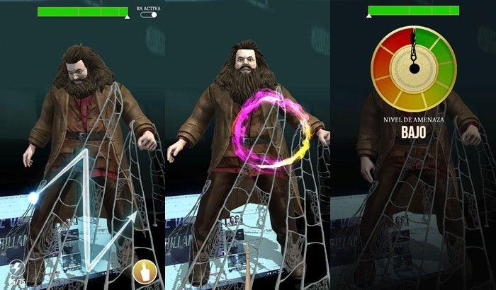 Harry Potter Wizard Unite primera prueba