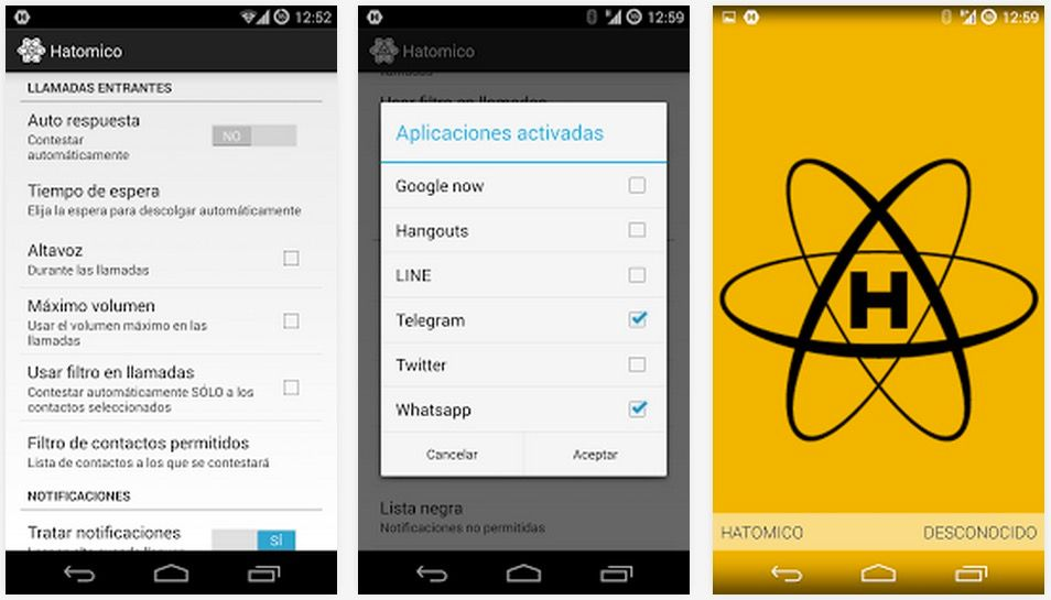Hatomico para Android