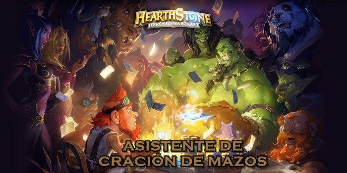Hearthstone ASISTENTE DE CRACION DE MAZOS