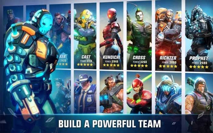 Hero Hunters para Android