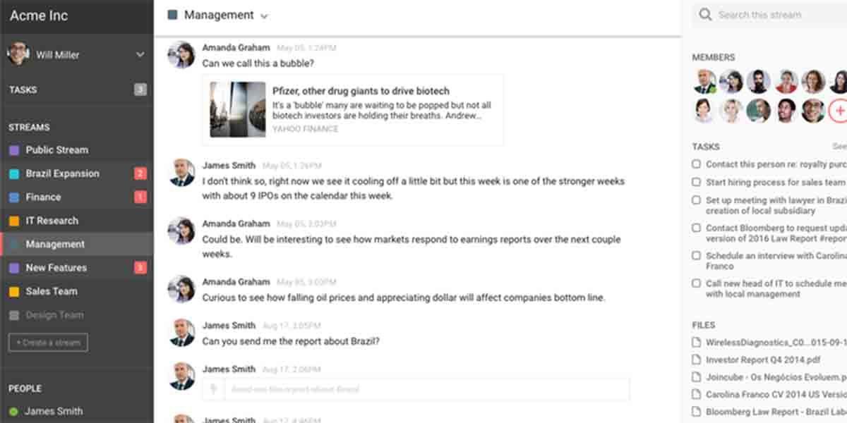 Hibox app alternativa a Trello
