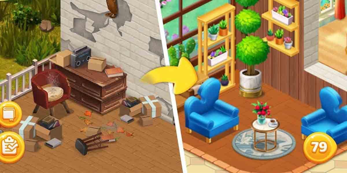 Home Design Makeover juego decorar casas