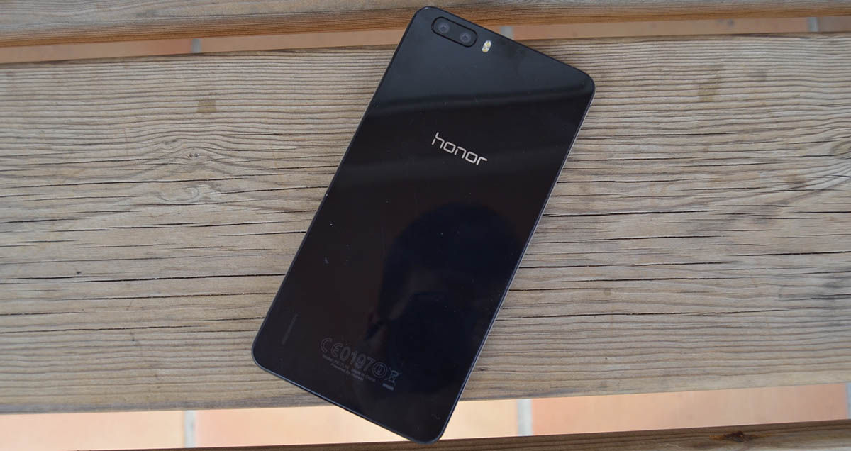 Honor 6 Plus trasera
