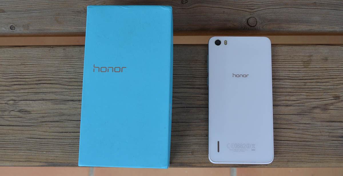 Honor 6 con caja