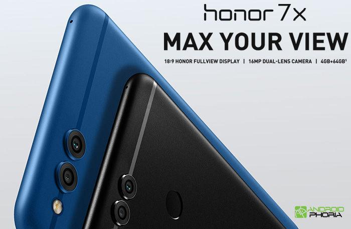 Honor 7X camara dual especificaciones