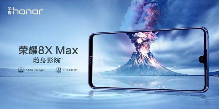 honor 8x max especificaciones