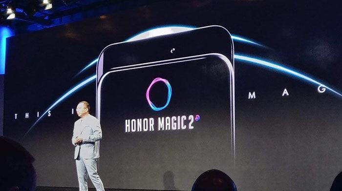 Honor Magic 2 con bateria de grafeno