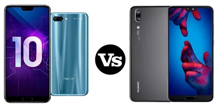 Honor 10 vs Huawei P20 comparativa