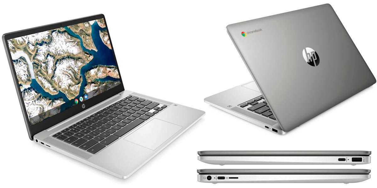 Hp chromebook 14a compatible con aplicaciones android