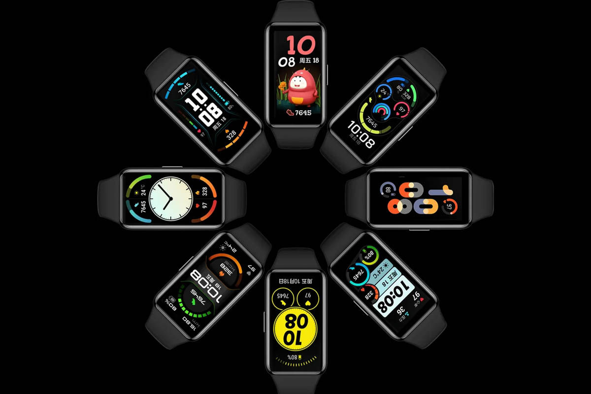 Huawei Band 6 diseño funciones