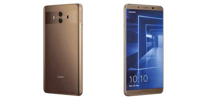 Huawei Mate 10 dorado