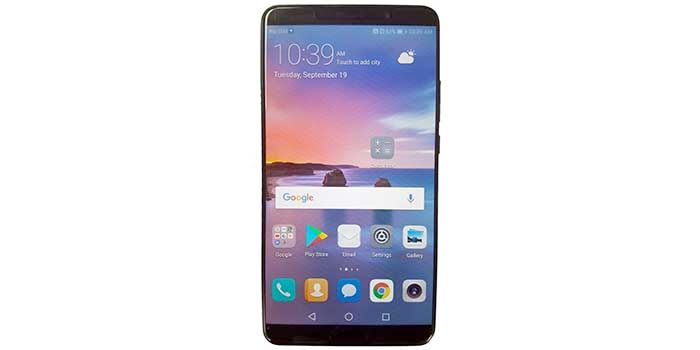 Huawei Mate 10 imagen real