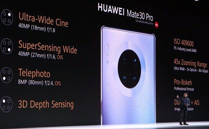 Huawei Mate 30 Pro camaras