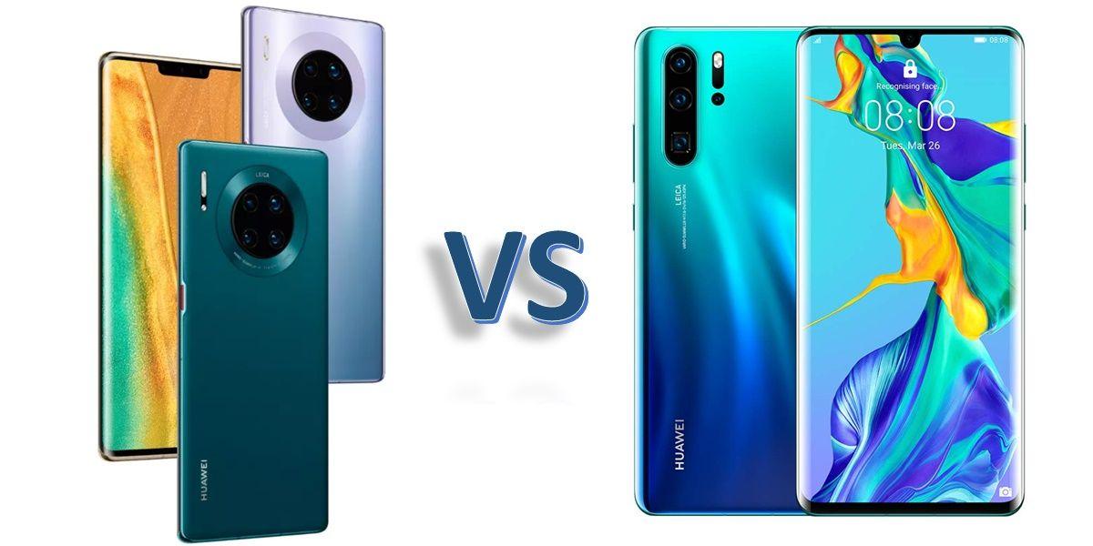 Huawei Mate 30 Pro vs P30 Pro