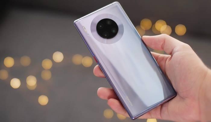 Huawei Mate 30 camara potencia