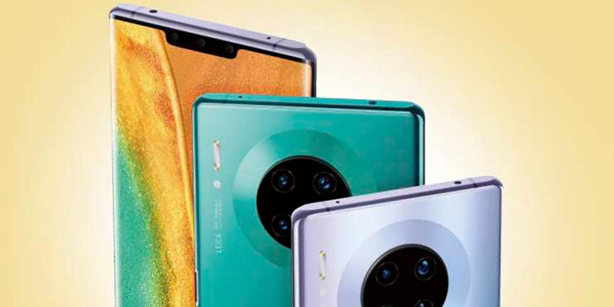 Huawei Mate 30 montaran pantallas LG