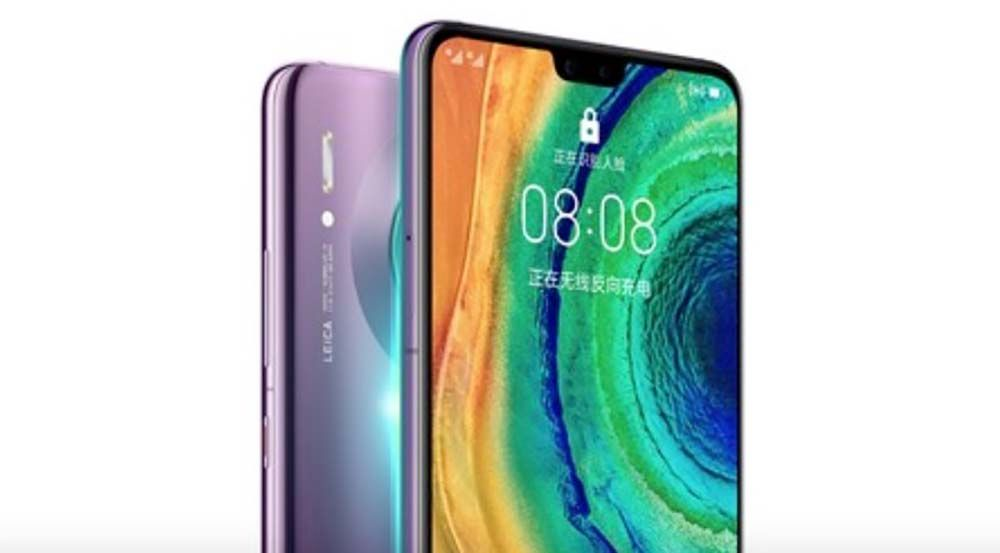 Huawei Mate 30 oficial