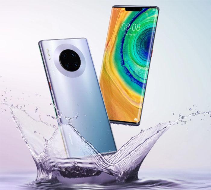Huawei Mate 30 paneles LG