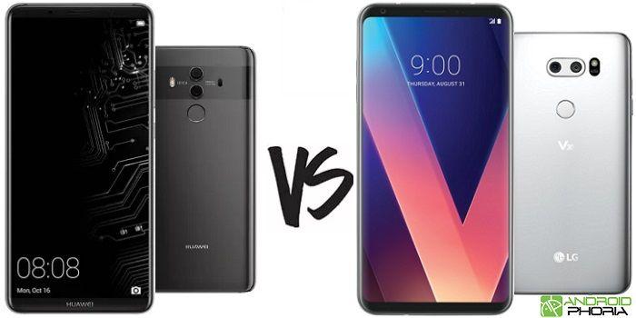 Huawei Mate 10 Pro vs LG V30