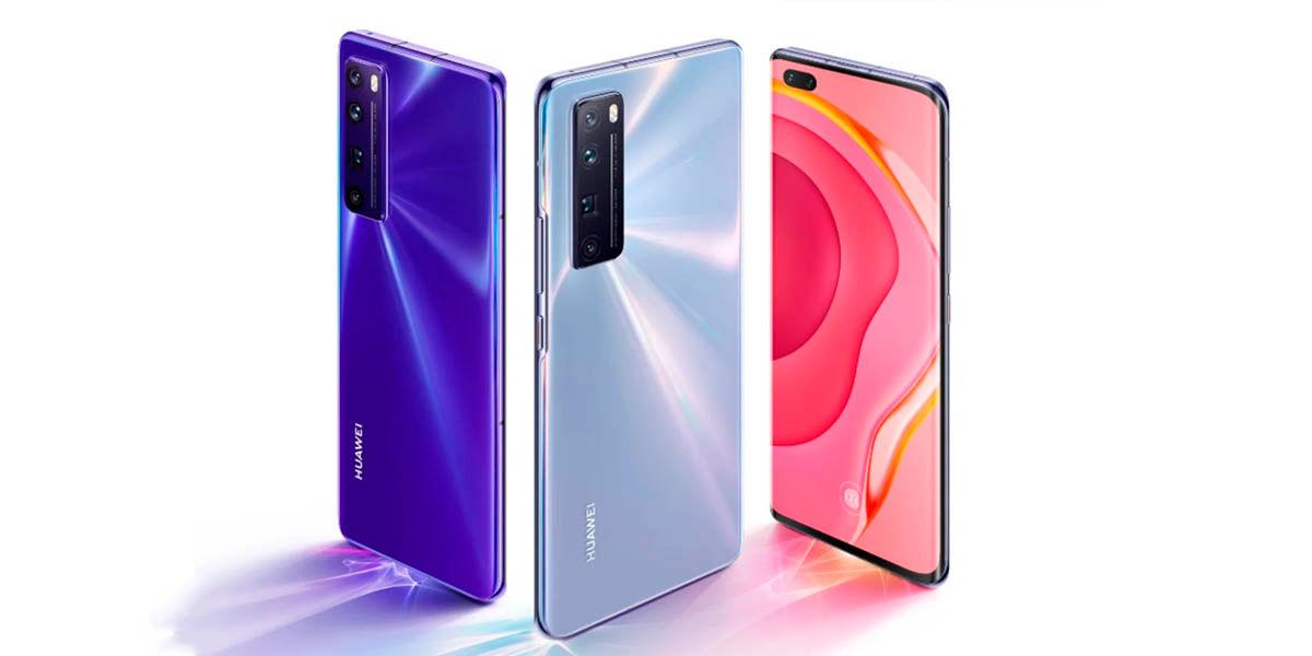 Huawei Nova 7, 7 Pro y 7 SE lanzamiento
