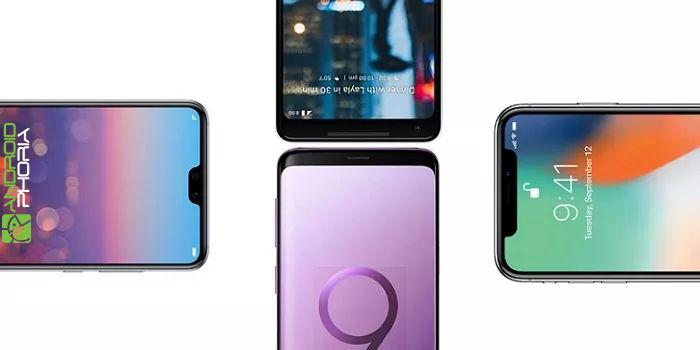 Huawei P20 Pro vs Galaxy S9+ vs iPhone X vs Google Pixel 2 XL