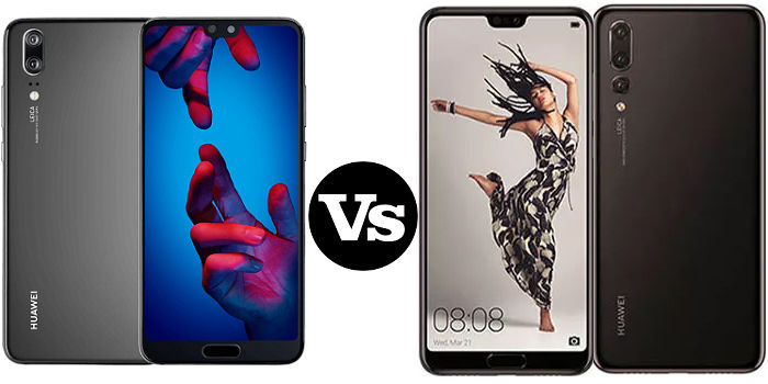 Huawei P20 vs P20 Pro