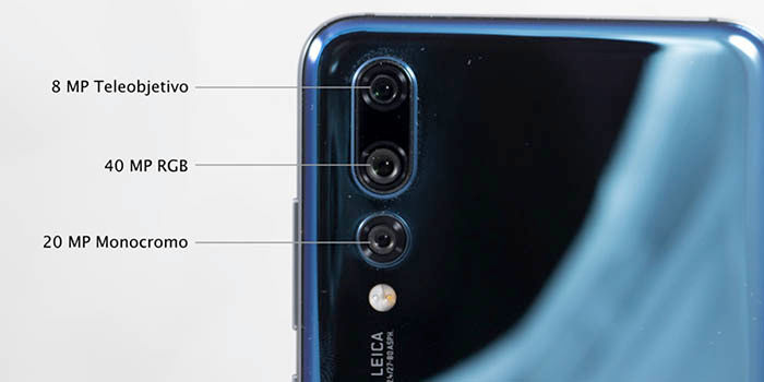 Huawei P20 Pro con triple cámara