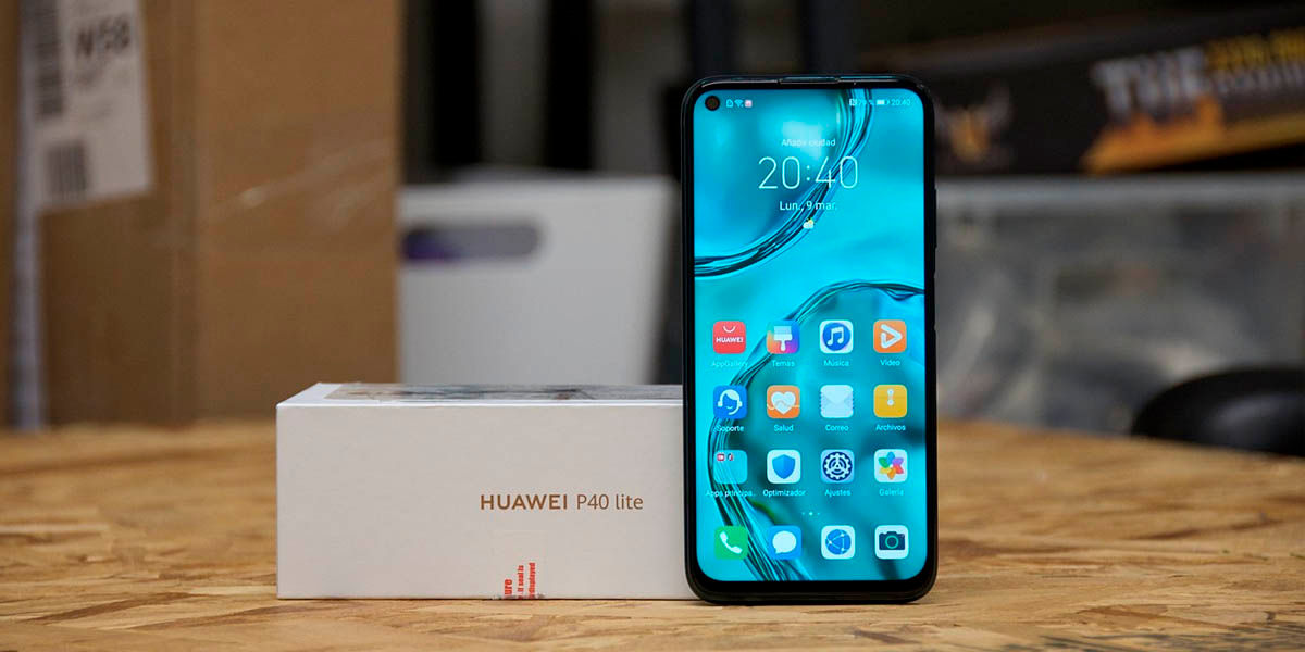 Huawei P40 Lite de los mejores gama media de 2020